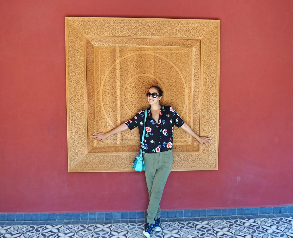 Jardín Secreto en Marrakech