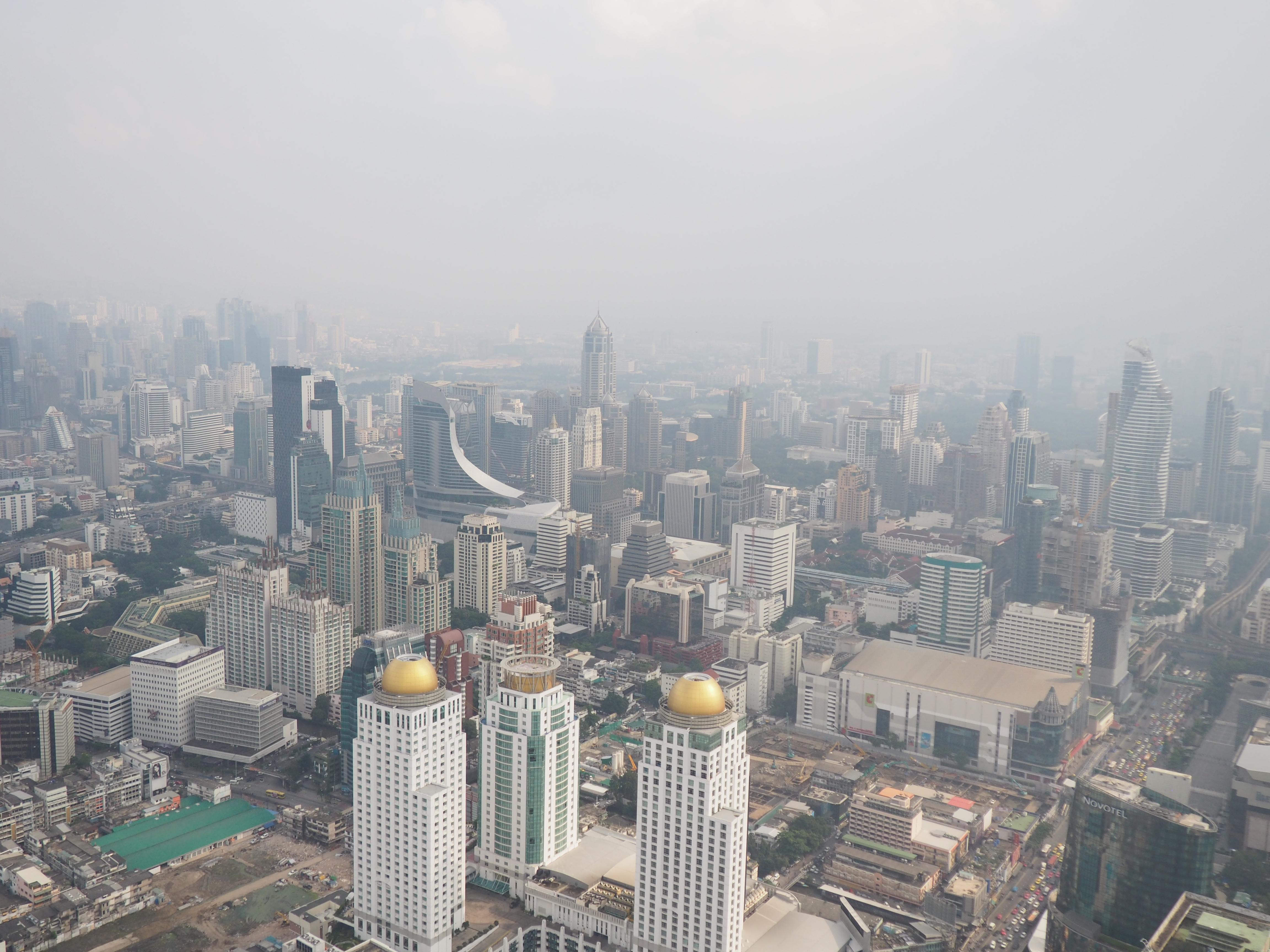 Vistas de Bangkok desde la torre Baiyoke