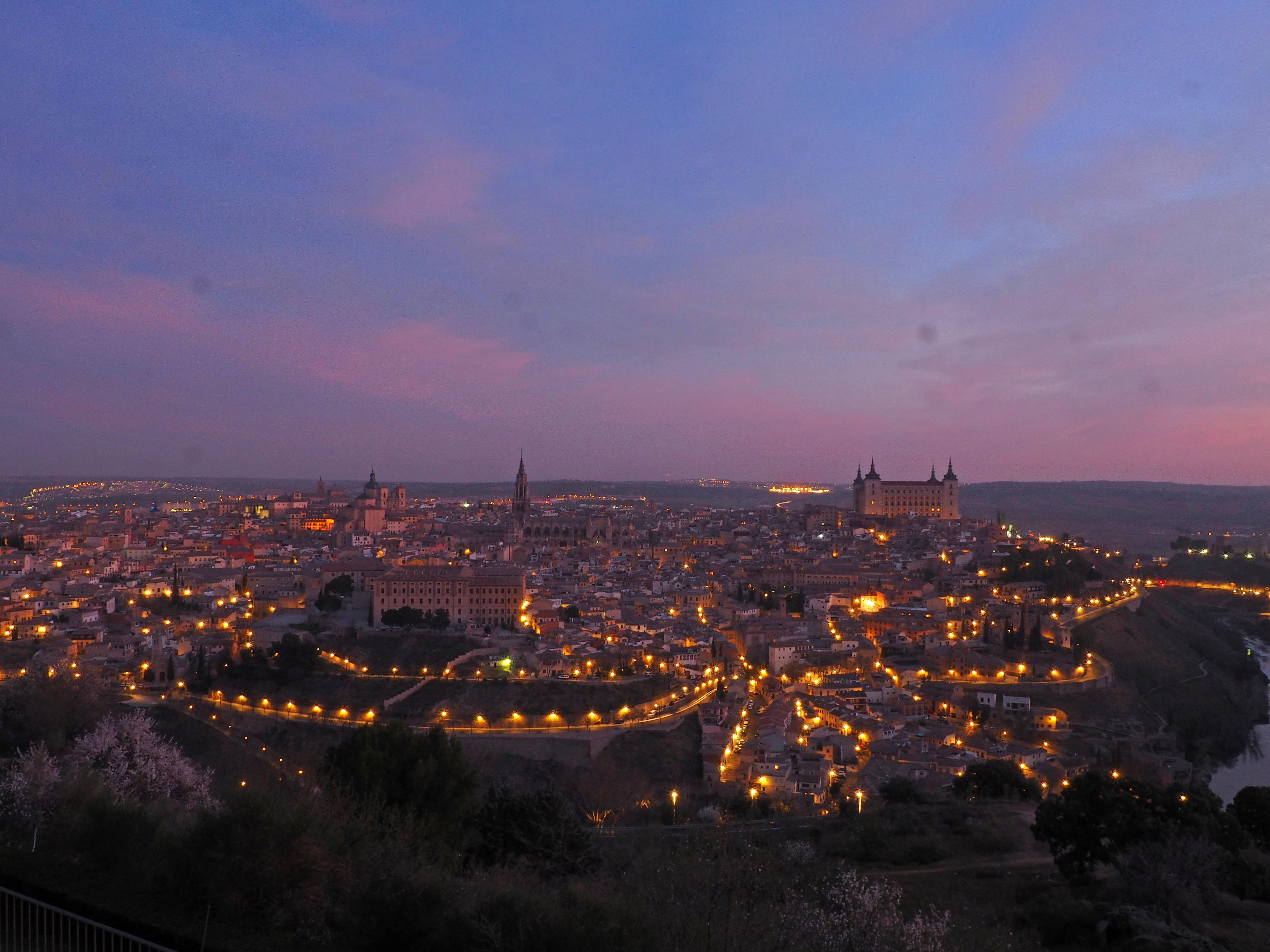 Vistas de Toledo desde el Parador