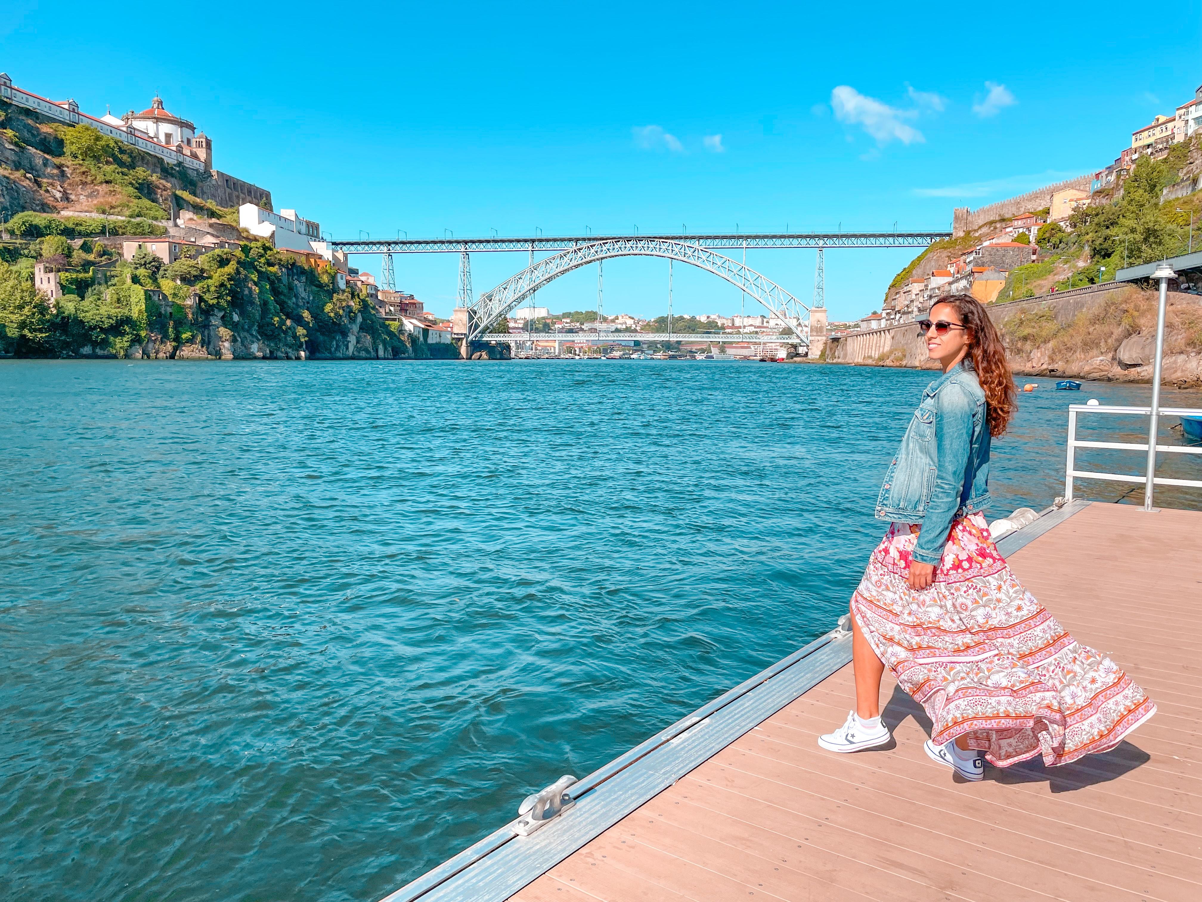 Rio Duero en Oporto