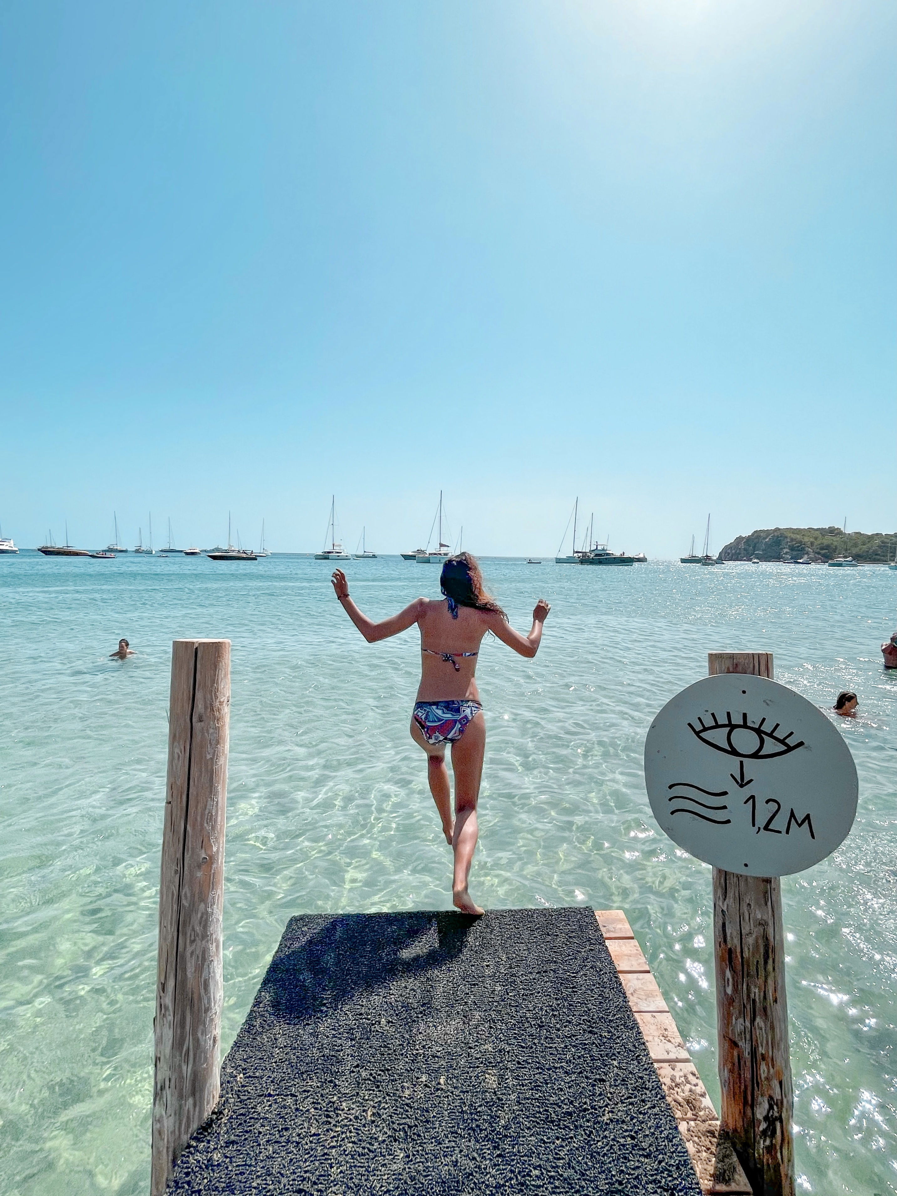 Cala Jondal en Ibiza